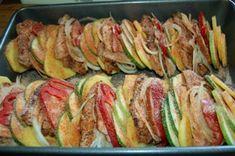 Carska uczta z łopatki , pomysł na obiad - Ogrodnik w podróży Ratatouille, Zucchini, Sushi, Vegetables, Ethnic Recipes, Food, Summer Squash, Veggies, Essen