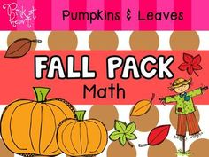 Fall+Pack+-+Math+(numbers+1-30)+from+Pink+at+Heart+on+TeachersNotebook.com+-++(46+pages)++-+PDF+-+Fall+Worksheets+and+Activities!