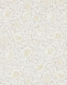 With four unique colorways, the Annandale Wallpaper is intentionally whimsical, designed with a pattern of pomegranates, flowers, and botanicals. Its charismatic motif lends well to covering powder baths or kids rooms for a more playful, but still collected look and feel. Foyer Wallpaper, Grey Wallpaper, Bathroom Wallpaper, Kids Wallpaper, Wallpaper Patterns, Wallpaper Ideas, Transitional Wallpaper, Pop Up Shops, Decorative Pillows
