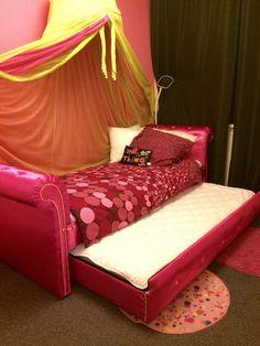 Chloë's bed