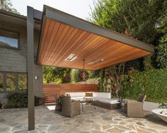 Modern Pergola Outdoor Garden Summertime Shade | Covered Pergola |  Pinterest | Modern Pergola, Outdoor Gardens And Pergolas