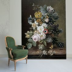 Still Life with Flowers by Eelke Jelles Eelkema on your wall? Living Room Paint, Living Room Decor, Simple Interior, Unique Paintings, Home And Deco, Luxury Living, Decoration, Room Inspiration, Still Life