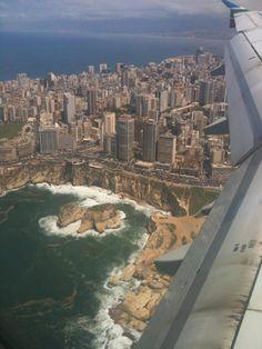 Beirut from above #beirut #lebanon #travel