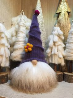 "Christmas gnome, Swedish tomte, Scandinavian folklore, Norwegian nisse, ""Balthazar"" by Gnomes4theHolidays on Etsy"