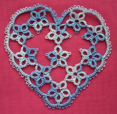 Tat-a-Renda: No. 12/25 - The Heart is Blue