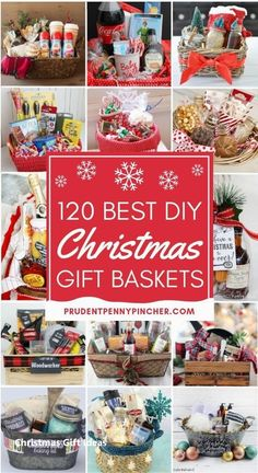 120 DIY Christmas Gift Baskets - - Add a personal touch to yo. 120 DIY Christmas Gift Baskets - - Add a personal touch to your Christmas gifts this year with these . Diy Christmas Baskets, Mason Jar Christmas Gifts, Easy Diy Christmas Gifts, Christmas Gifts For Friends, Christmas Christmas, Gift Wrapping Ideas For Christmas Unique, Christmas Ideas, Christmas Crafts, Holiday Gift Baskets