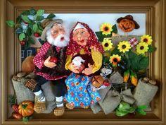 Clay Ornaments, Clay Figures, Salt Dough, Clay Art, Gnomes, Photo Art, Fantasy Art, Dinosaur Stuffed Animal, Teddy Bear