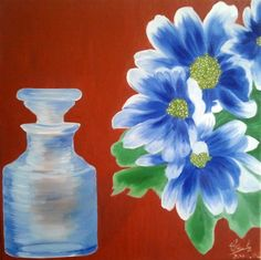 cricar.com | Separated, oil on canvas painting by Carmen Cristea