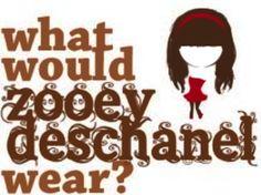 What would Zooey Daschanel wear?