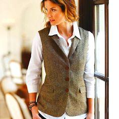 Italian Tweed Vest - Territory Ahead