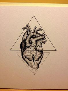 tatuajes corazon en 3d - Buscar con Google