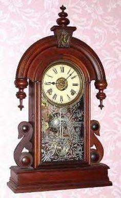 Collectibles-General (Antiques): Wooden Ansonia clock finials ...