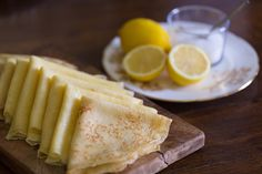 French Crepe Recipe - It didn't take long living in France to realize that the French really do eat a lot of crepes. This recipe is from my studies at Le Cordon Bleu and it has never let me down! French Crepes, French Toast, Breakfast For Dinner, Breakfast Ideas, French Dinner Parties, Crepe Batter, Savory Pancakes, Crepe Recipes, Kitchens
