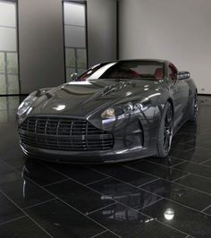 Carbon fiber Aston Martin who wouldn't drive this