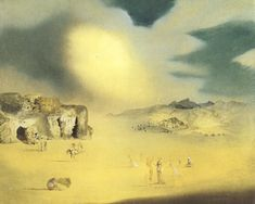 Painting by Salvador Dali, 1937