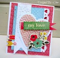 A Project by Char4355 from our Scrapbooking Cardmaking Galleries originally submitted 01/12/13 at 09:37 PM