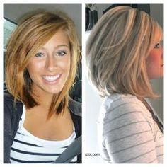 Shoulder length. I really kind of LOVE this!!!