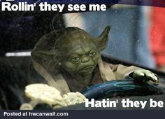 The see Yoda rolling