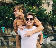 Mikey and Luke Tumblr Gay, Lgbt Couples, Cute Gay Couples, Pretty Boys, Cute Boys, 2 Boys, Mikey Murphy, Boyxboy, Chicos Gay