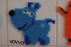 Bildresultat för skalman pärlor Perler Bead Art, Perler Beads, C2c, Dinosaur Stuffed Animal, Preschool, Pearls, Toys, Creative, Projects