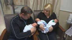 Their plan was to have one more baby, but a Fenton family came home from the hospital Tuesday night with three. Triplets, Twins, Local Women, Big Challenge, Baby Needs, Baby Care, Tuesday, Birth, Pregnancy