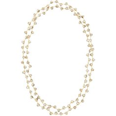Nakamol Long Beaded Silver Crystal Necklace ($24) ❤ liked on Polyvore featuring jewelry, necklaces, gold, 14k chain necklace, chain necklace, silver jewellery, 14 karat gold necklace and silver necklace