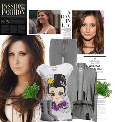 """""""Ashley Tisdale"""" by firewitch23 ❤ liked on Polyvore"""