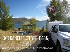 Campground #1: Jordanelle State Park, Utah. A complete review of this campground along with area activities and attractions.