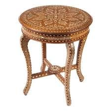Antique Anglo Indian Inlaid Occasional Table | Indian Furniture | Pinterest  | Indian Furniture, Antique Furniture And Woods