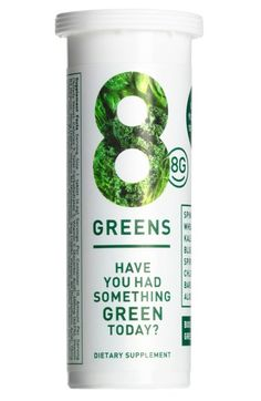 A daily dose of greens when you can't have your salad.