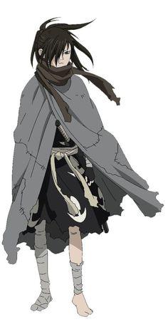 Drawings on shikishi of the characters designer and Trailer of the new animated Dororo - Nonah Bernardeschi Anime Guys, Manga Anime, Anime Art, Animation, Samurai, Monster Musume, Cowboy Bebop, Berserk, Naruto Characters