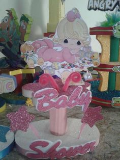 decoracion niña baby shower