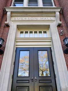 Emerson Hall in Harvard Yard, Harvard University