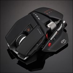Cyborg R.A.T. 9 Gaming Mouse...highly customizable and super badass