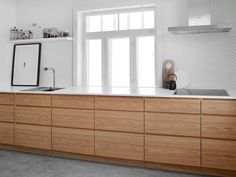 Home The New Angle On Customized Kitchen Cabinets In Smoked Oak Just Released 59 - neweradecor V Home Decor Kitchen, Kitchen Furniture, Kitchen Interior, New Kitchen, Interior Design Living Room, Home Kitchens, Kitchen Dining, Cheap Furniture, Luxury Furniture