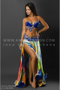 PROFESSIONAL BELLYDANCE COSTUME (CLASSIC59A)