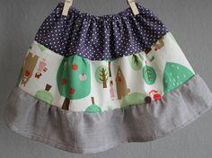 """skirt """"juli"""" by kleine-woelkchen..."""