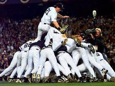 Yankees win 1996 World Series