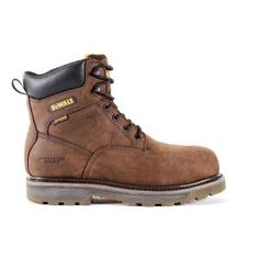 9666c5ff85d $89.99, Was $149.99, 40% Off! DEWALT Tungsten Men Dark Brown Leather  Puncture
