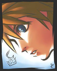 Sora - Kingdom Hearts.