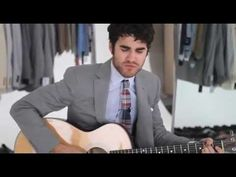 Darre  Criss- GQ Behind the scenes. The best part of this video is when he sings Jealousy and also when he goes all Italian at the end :D
