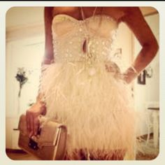 Another perfect dress for the dance part of the wedding