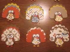 Owl Punch Turkeys by mjbsmiley - Cards and Paper Crafts at Splitcoaststampers