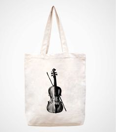 The cello canvas tote bag/Tote bag/Diaper by canvasanni on Etsy, $11.90