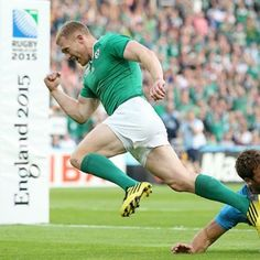 Keith Earls becomes Ireland's record try score with his Munster Rugby, Ireland Rugby, Irish Rugby, Team Names, All Star, Keith Earls, Running, Fitness, Sports