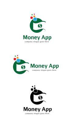 Money App Logo Templates Features:- eps and ai FILE- CMYK 300 DPI- FREE FONT USED- LAYERS ORGANIZEDFONT:Aurulent SansD by goodigital