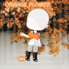 I'm loving this orange outfit for Some reason 😄 maybe because I don't often use this color.Some one requested… Kawaii Drawings, Cute Drawings, Clothing Sketches, Background Drawing, Fashion Design Sketches, Drawing Clothes, Flower Backgrounds, Drawing Poses, Anime Outfits