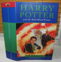 Harry Potter and the Half-blood Prince: By J. First Edition. Title: Harry potter and the Half Blood Prince. Binding: HARDBACK edition with dustjacket. Harry Potter Books, Half Blood, Prince, Ebay