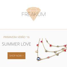 A nossa plataforma online já está disponível! Já podem fazer as vossas compras de forma super fácil 😍  Visitem 👇  www.freakumstore.com
