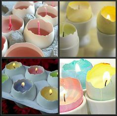 #egg #candle